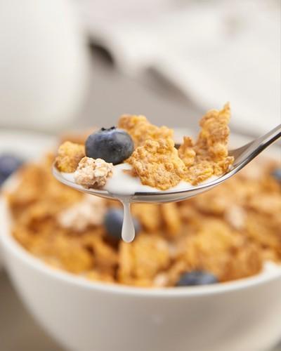 Cereal Spoon Milk