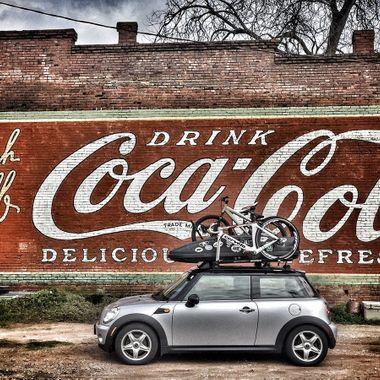 AN amazing corner of 'Merica.  Plains, GA.  Hometown of Jimmie Carter.