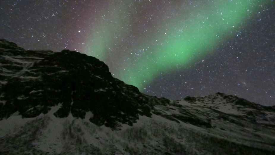 Northern Lights outside of Tromsø, Norway
