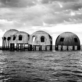Abandoned dome homes