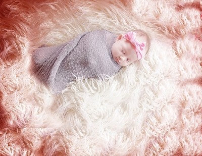 Sleeping on a rose colored cloud