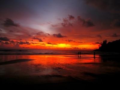 Sunset in Phuket