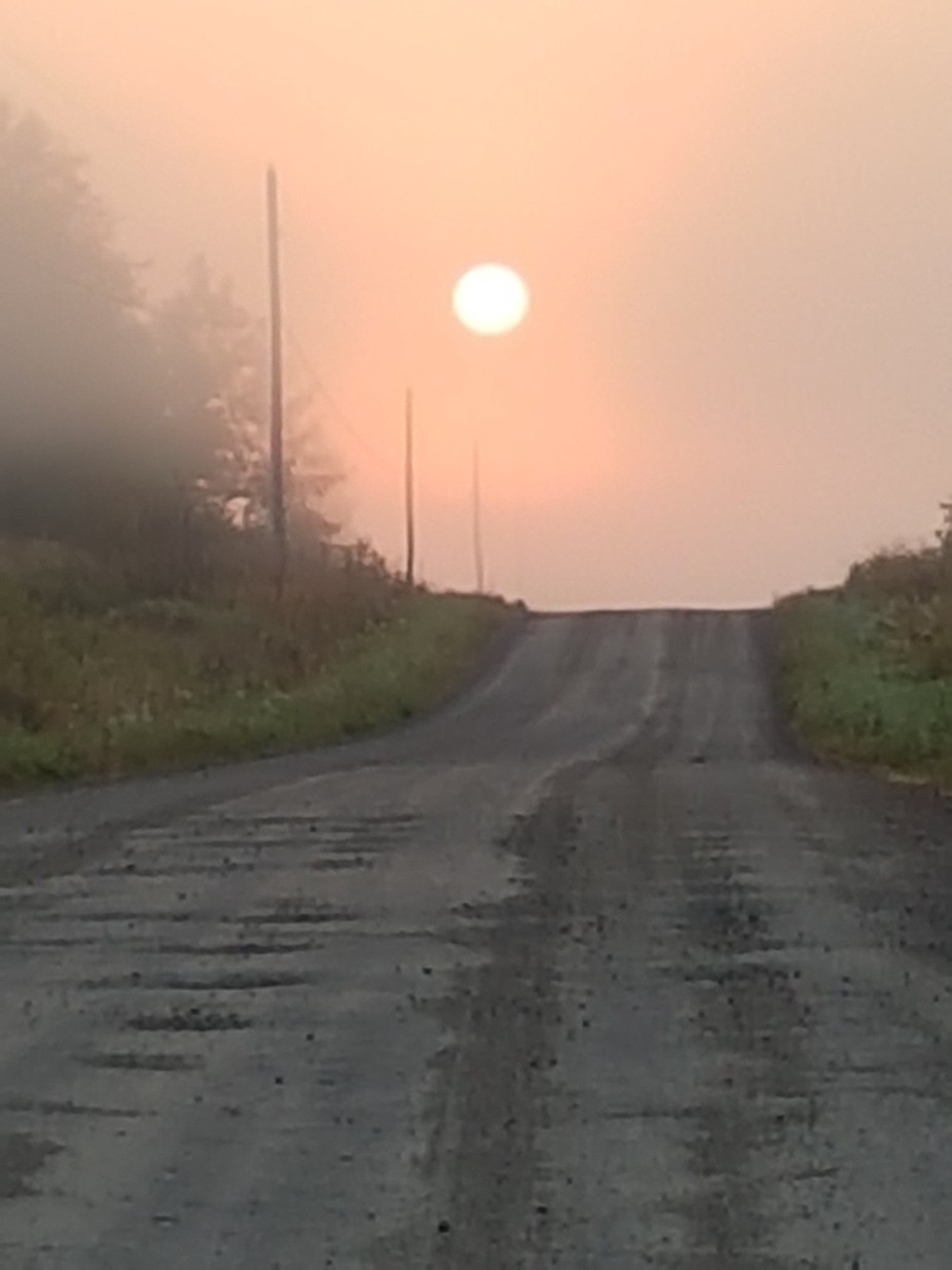 We have beautiful sunsets and sunrises in Northern Ontario Canada but some are more eye catching ...