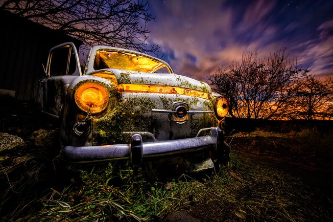 My Car by Dolcefoto - Experimental Light Photo Contest
