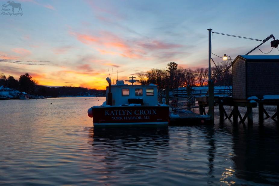 York Harbor, Maine - 3.10.2018