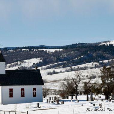 Little Dane Church by St. Onge South Dakota.