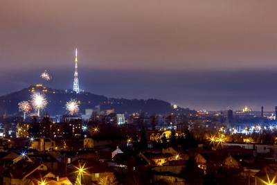 New Year eve in Lviv
