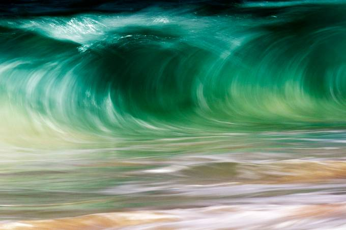 Slow Green by Stu_Soley - Capture Motion Blur Photo Contest