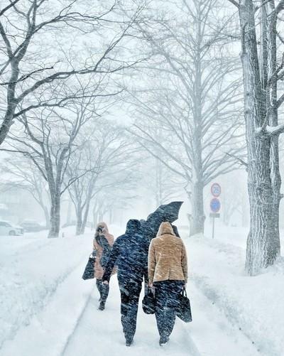 Friday Snow storm