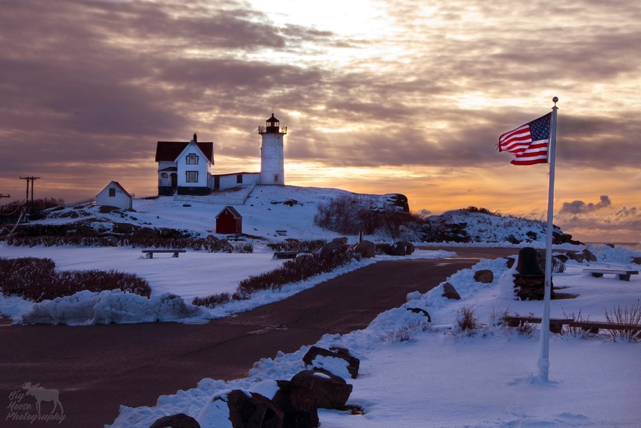 Cape Neddick, Maine - March 10 2018