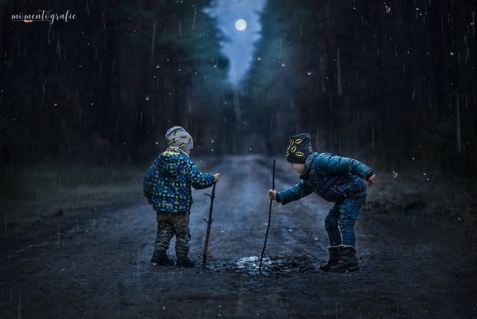 Igor i Filip by momentografie - Rain Photo Contest