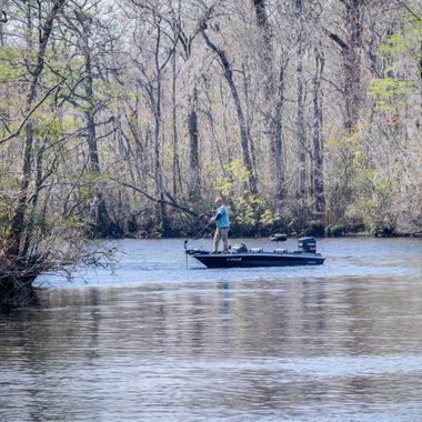 Fishing on the Waccamae