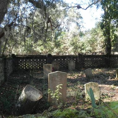 a small family cemetery in Guyton, GA