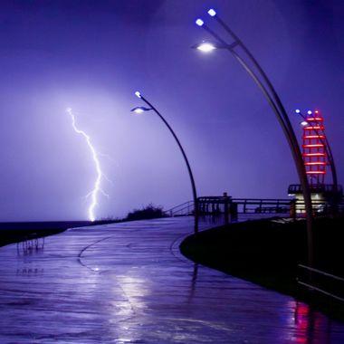 Lightning at the Pier