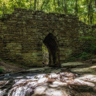 Poinsette Bridge in the upstate of South Carolina