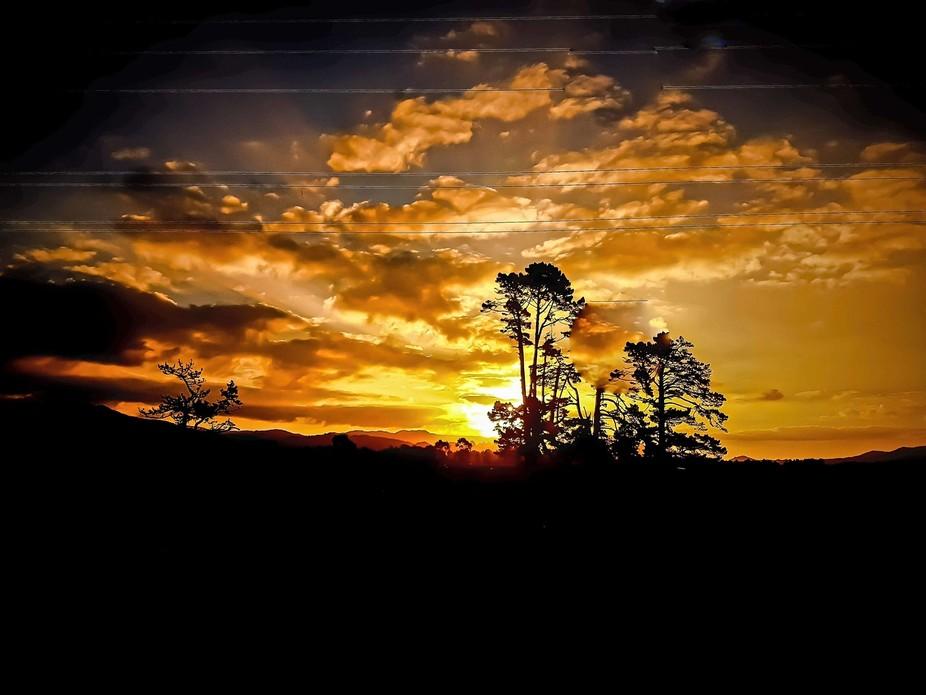 Sunsetn in Waihi Beach NZ