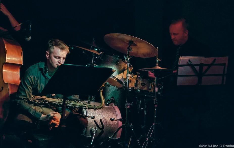Taken at a jazz gig