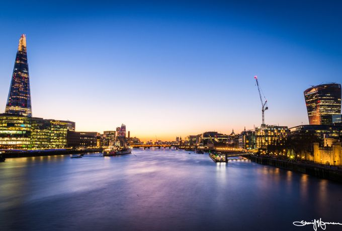 Sunset from Tower Bridge by SHVphotos - Image Of The Month Photo Contest Vol 31