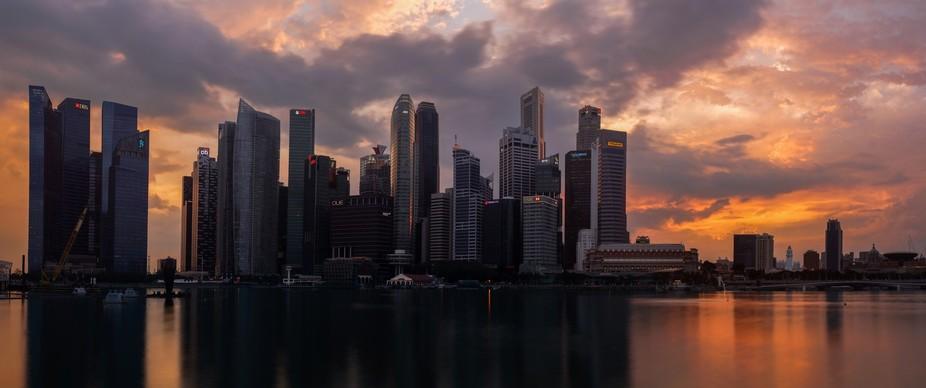 Singapore Sunset II