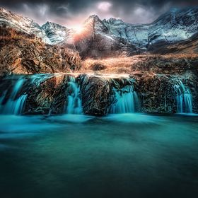 Fairy Pools, Isle of Skye, Scotland. A different edit to my previous Fairyland.