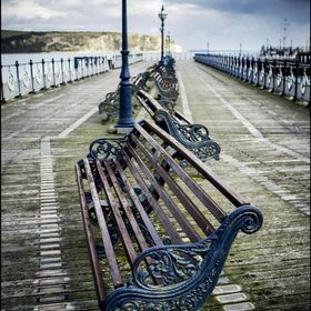 Swanage Pier, Dorset.  A favourite haunt of mine as a kid to fish.. and now to photograph when we visit.