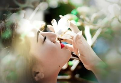 Flowers smel