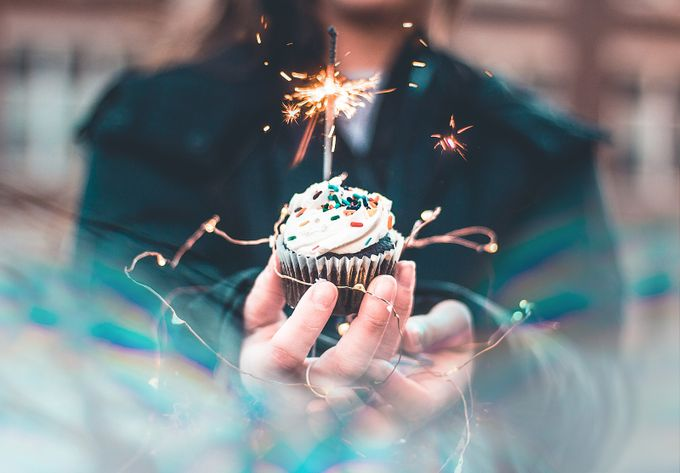 A birthday cupcake  by Jesse3650 - Creative Reality Photo Contest