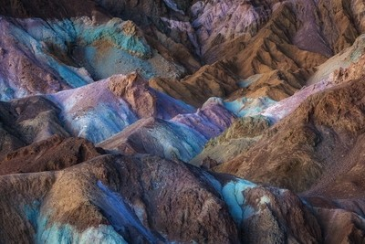 Blue Hour Palette - Artist's Palette, Death Valley