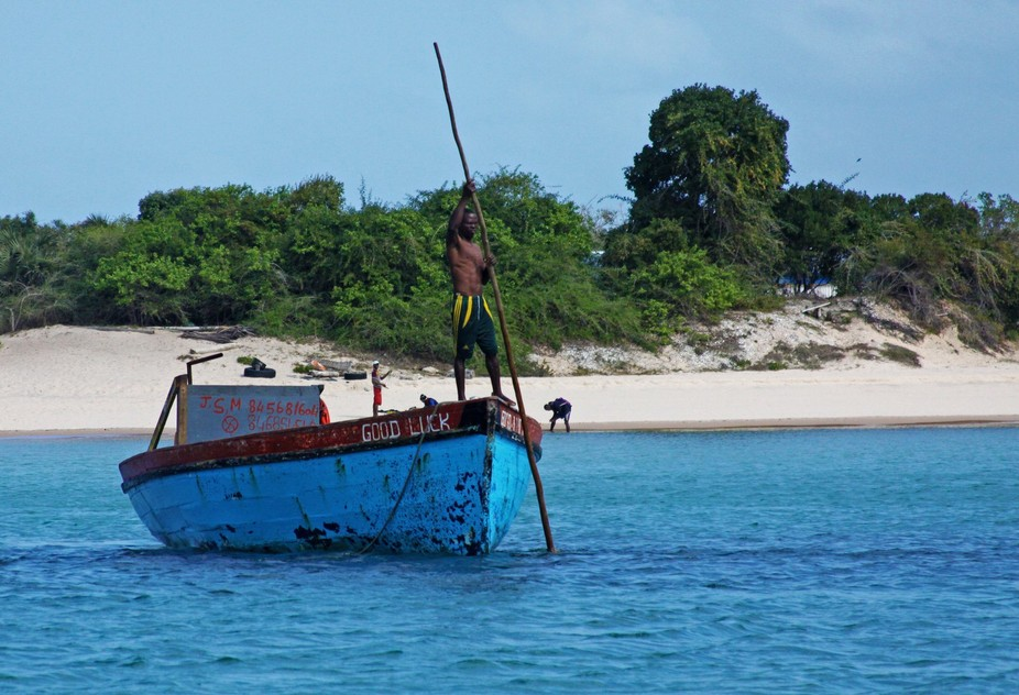 Fishing boat in Mozambique