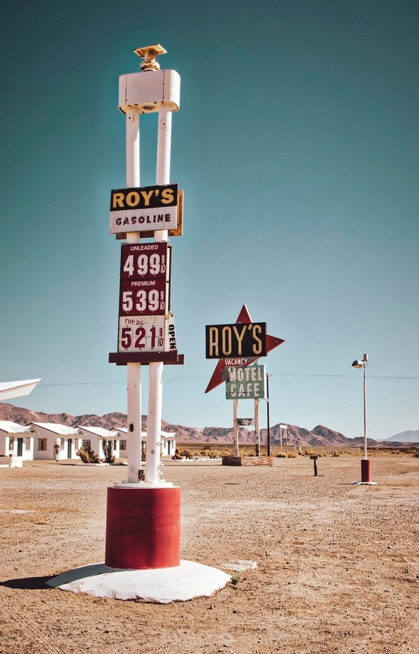 Route 66 Roy's Motel by martinrosenkranz - Summer Road Trip Photo Contest