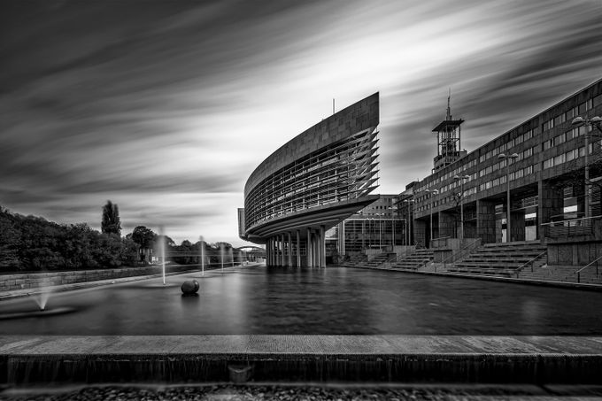 Landhausschiff ULZB by robsch - The Moving Clouds Photo Contest