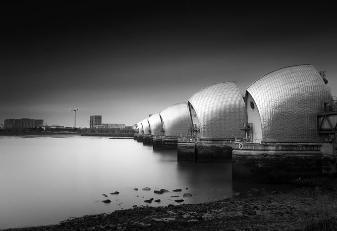 Thames Barrier by owenclements - London Photo Contest