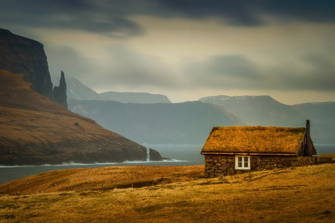 Faroese cabin by strOOp - Isolated Cabins Photo Contest