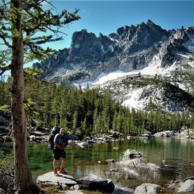 Back Pack camping the Enchantments