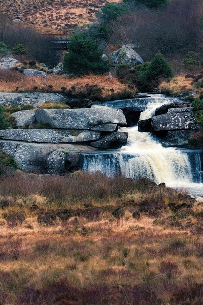 Tumbling stream, Donegal