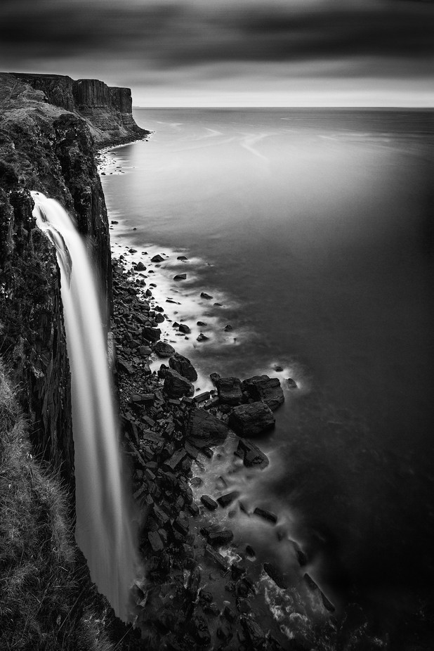 Mealt Falls-2 by PaulPersys - Black And White Landscapes Photo Contest