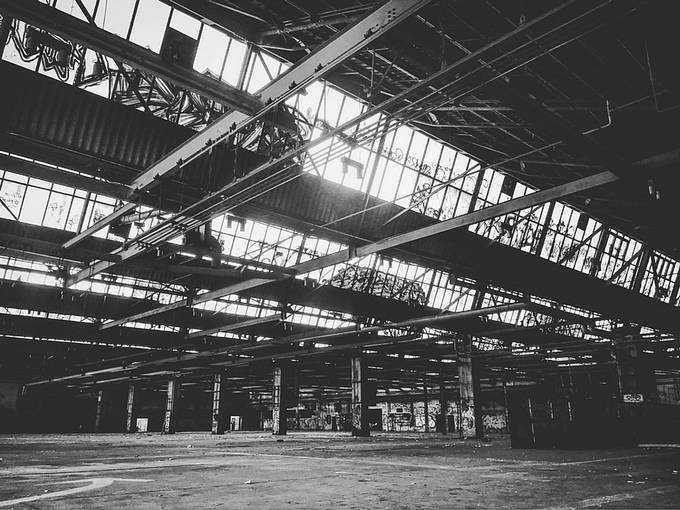 Lost Hall by tiimphotography - Warehouses Photo Contest