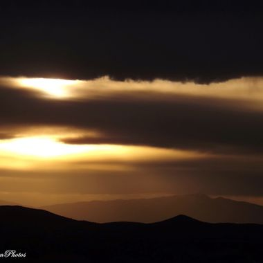 Mt Graham Sunset