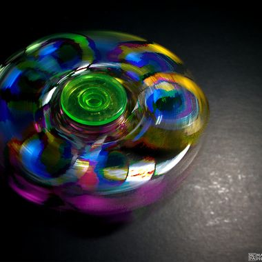 Fidget Spinner Long Exposure