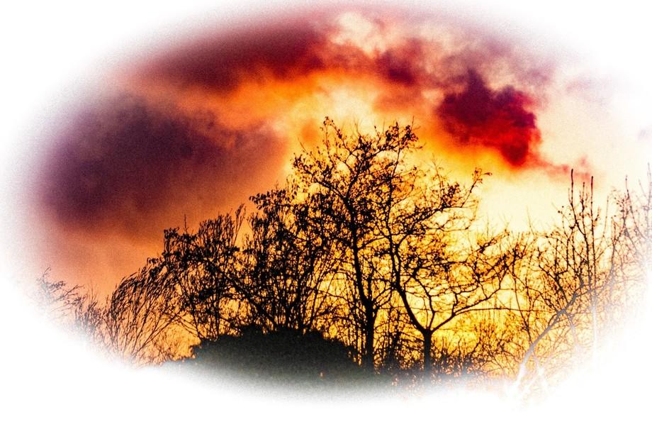 A RED SKY