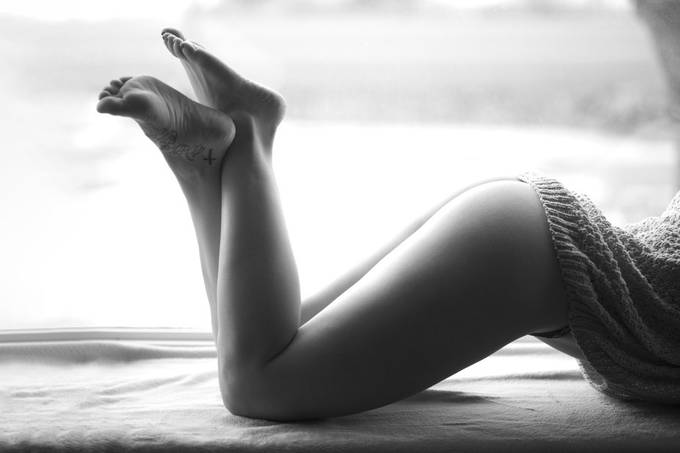 Curves by NicoleFerrisPhotography - Tasteful Boudoir Photo Contest