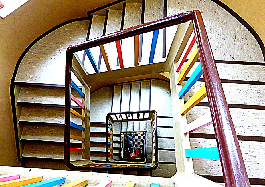 Stairwell in Nuremberg