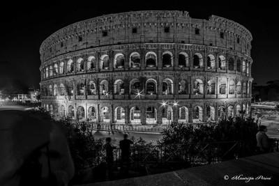Colosseo b-n