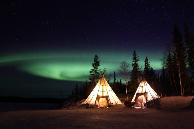 Northern lights by boitasapin - Night Wonders Photo Contest