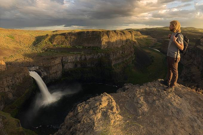 Eric Palouse by ericbennett - People And Waterfalls Photo Contest