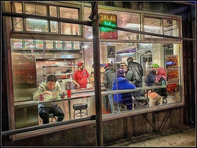 """Many years ago I began noticing and photographing street vendors and had thought that I would focus on this at some later date. The series has evolved and expanded, and now """"later"""" here it is!"""