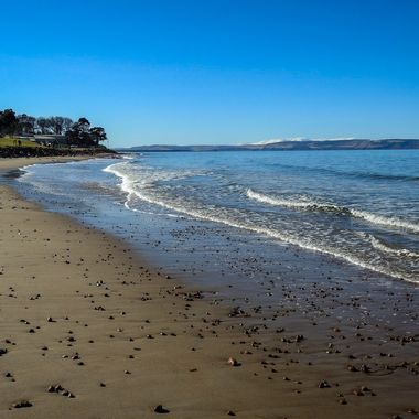 Nairn beach in March ............. :-)