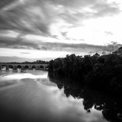 Photo of the river guadalquivir in Cordoba