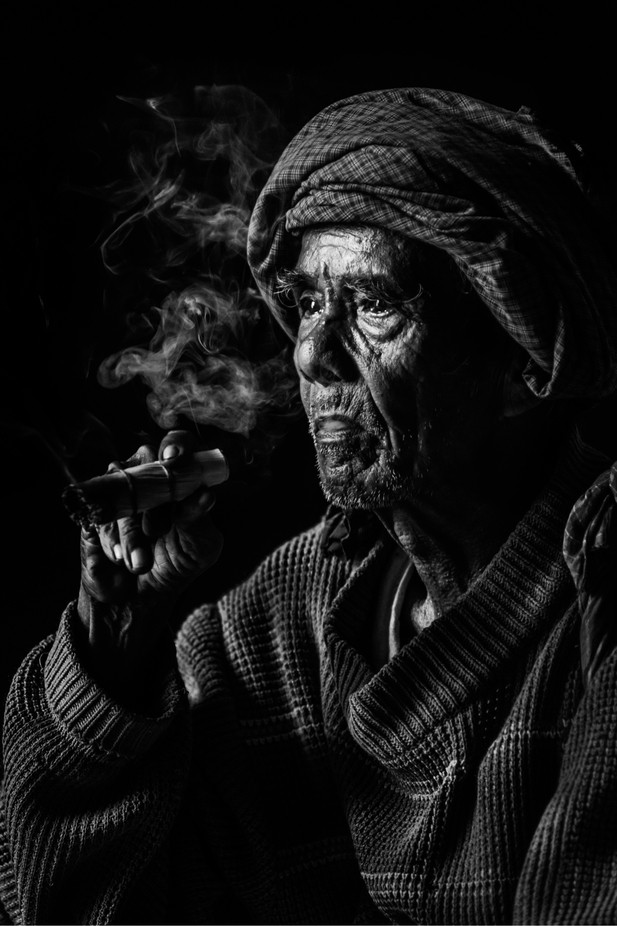 Old Man by MyatMin - Image Of The Month Photo Contest Vol 31