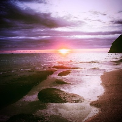 Photo done the paradise Katms Beach in Bali , Indonesia